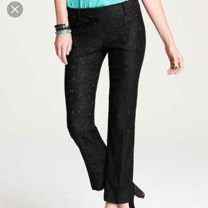 Ann Taylor Devin lace trouser